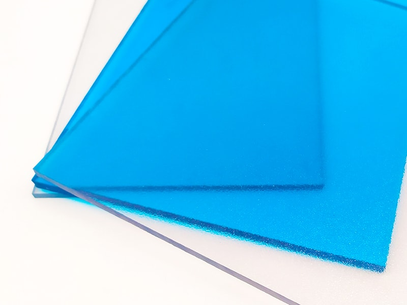Frosted polycarbonate