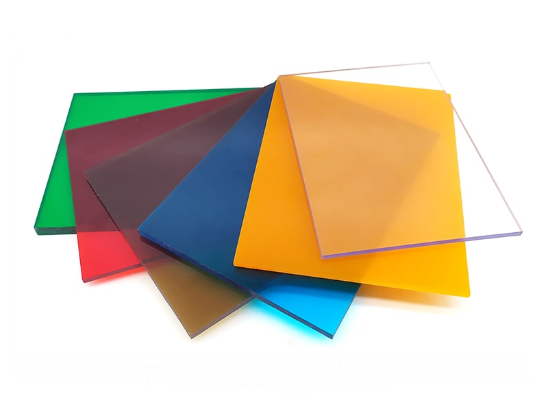 tinted polycarbonate sheets