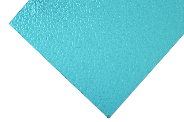 Green embossed polycarbonate sheet
