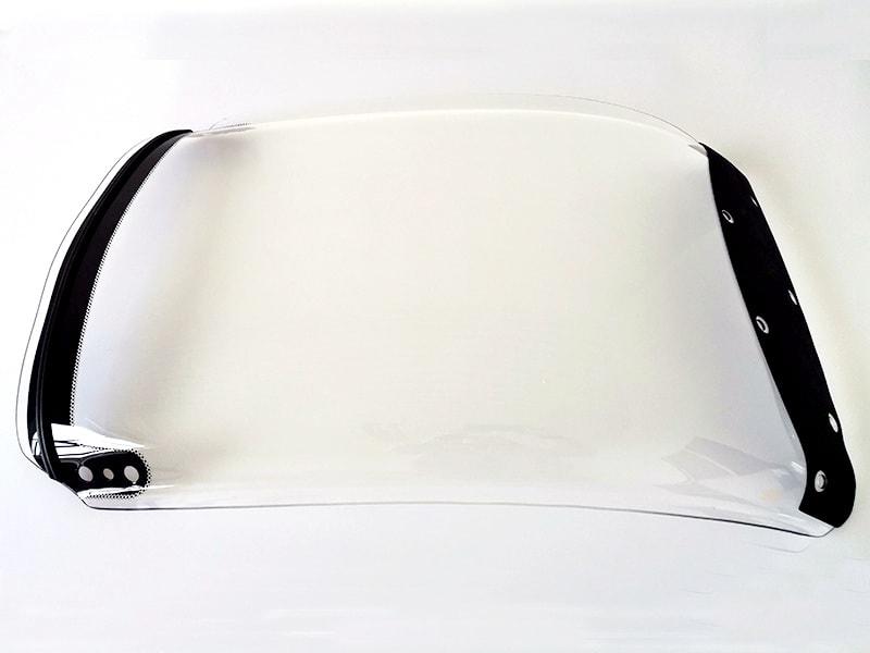 polycarbonate car windshield