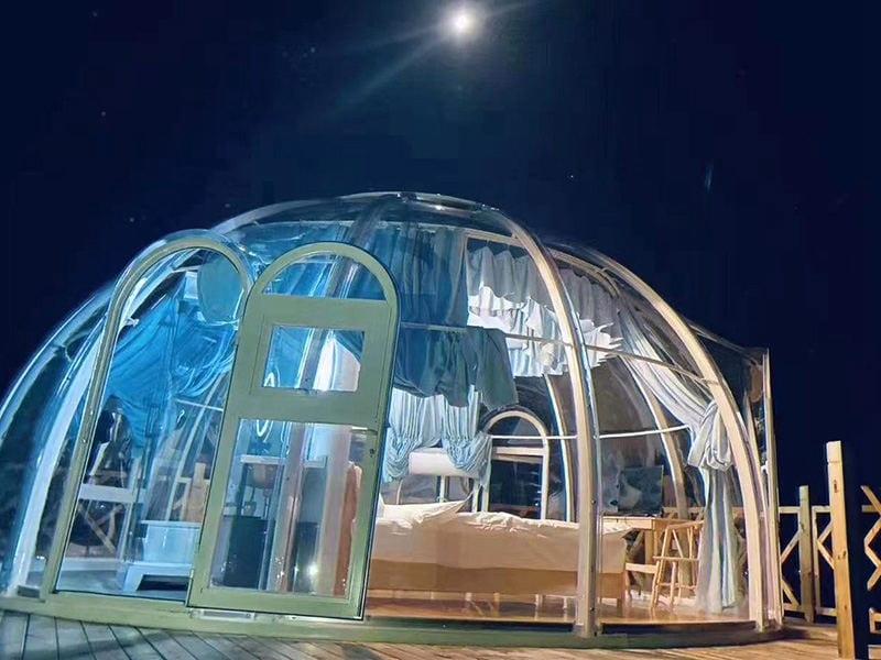 6m bubble tent