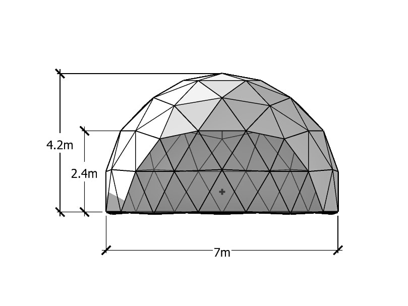 7m Geodesic Dome