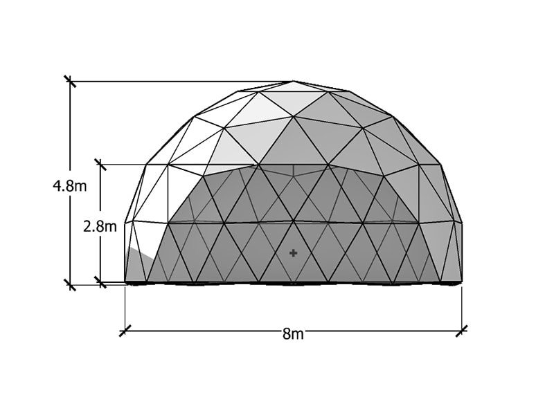 8m Geodesic Dome