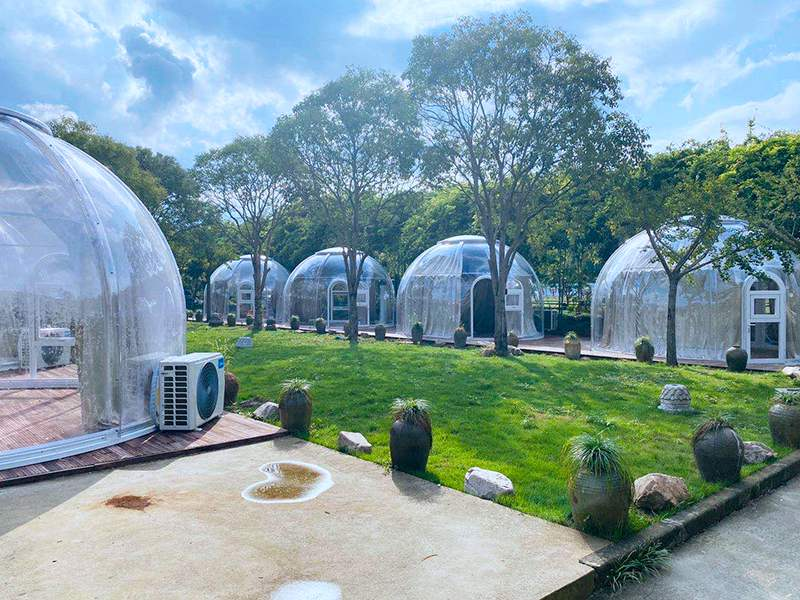 Clear Glamping Bubble Tent