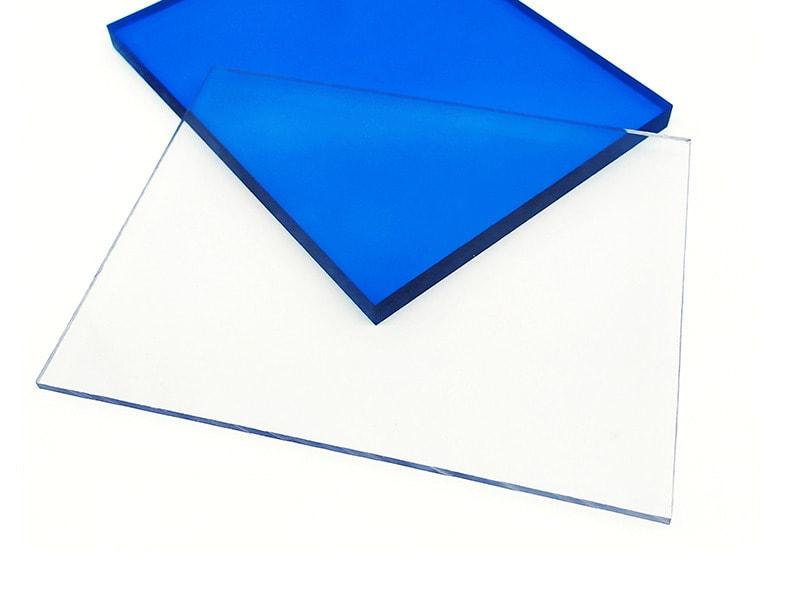 Blue Flame Retardant Polycarbonate