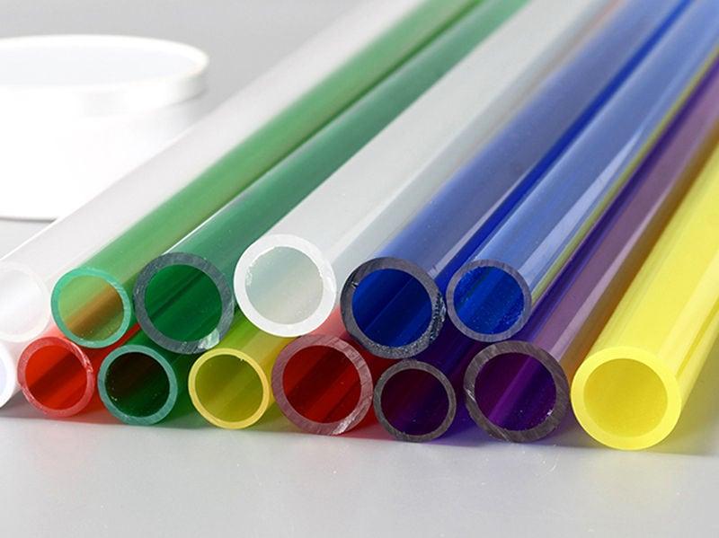Colored PMMA Tube