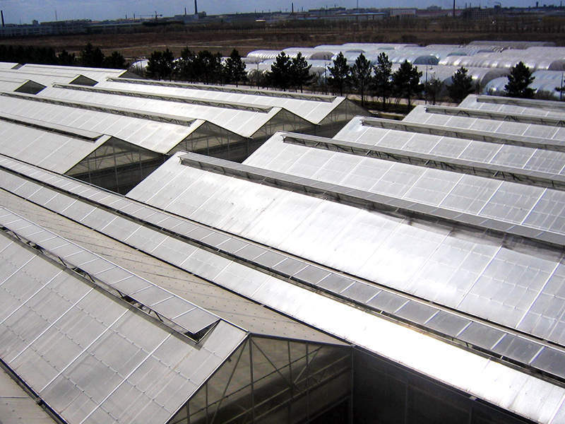 Twin wall polycarbonate Application for greenhouse