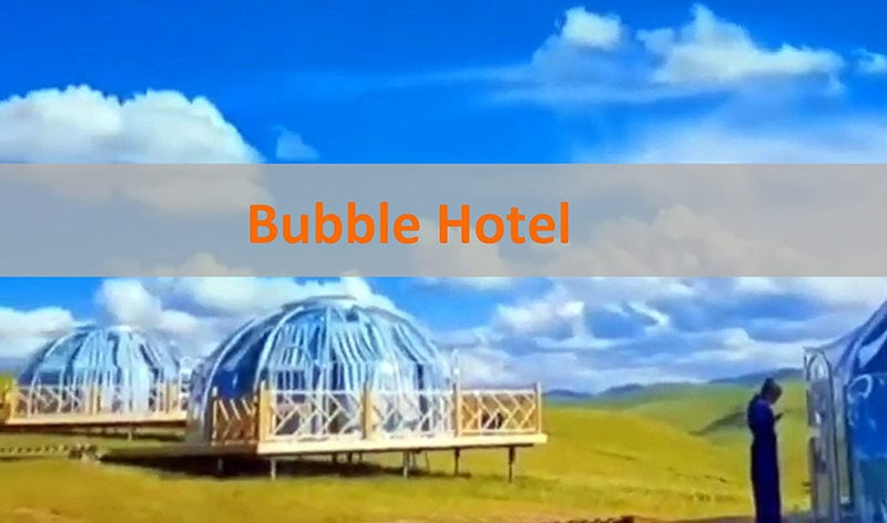 Glamping Dome Hotel