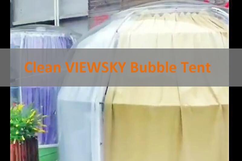 Clean Bubble Tent