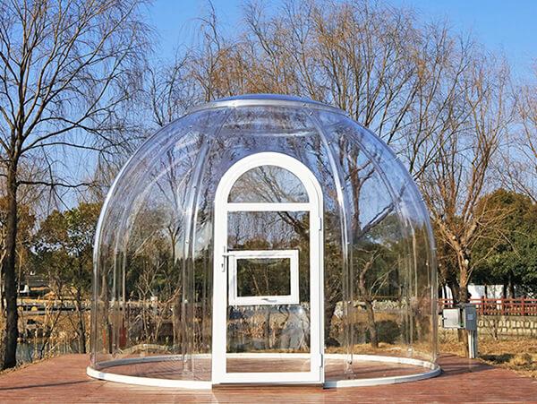 3.5 meters bubble tent