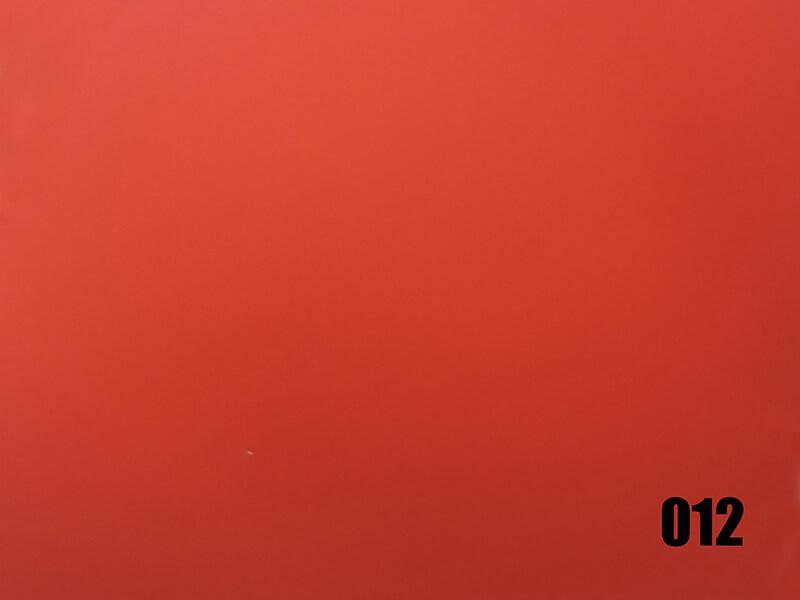 Red plastic mirror