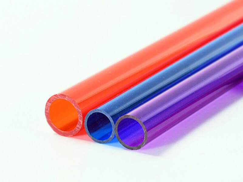 Colored Acrylic Tube