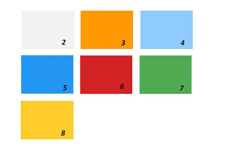 Color Range of Polycarbonate facade
