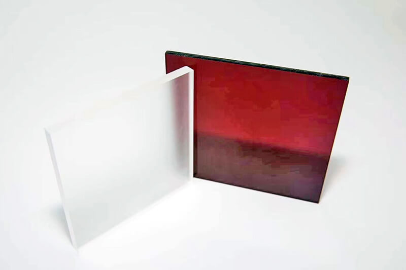 Colored PMMA sheet