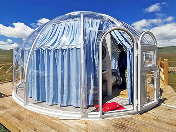 Clear Glampling Dome