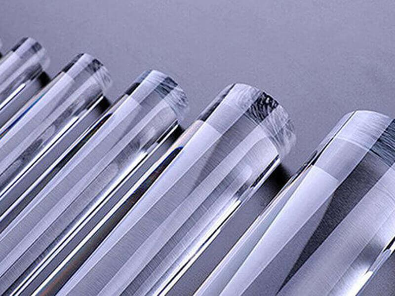 Clear Plexiglass Rod