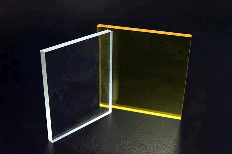 Transparent Tinted Plexiglass